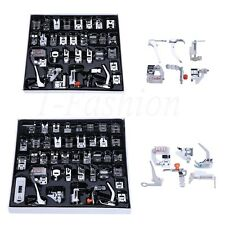 32/42Pcs Domestic Sewing Machine Foot Presser Feet Set for Brother Singer Janome