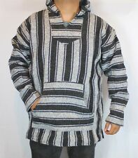 2XL Assorted Colors Baja Hoodie Hippie Mexican Surfer Skater Poncho Sweater XXL