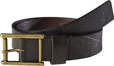 Fox Racing Mens Brown Briarcliff Leather Belt