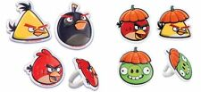 Angry Birds Character Cupcake Rings Party Favors Cake Toppers