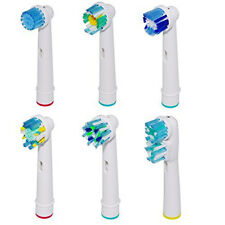 Electric Toothbrush Heads for Oral B Compatible Replacement Soft Tooth Brush