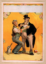 Photo Print Vintage Poster: Theatre Flyer 1800s Blank Unknown 08