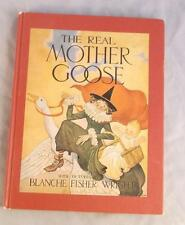 THE REAL MOTHER GOOSE  ILL. BY BLANCHE FISHER WRIGHT 1992 BARNES & NOBLE