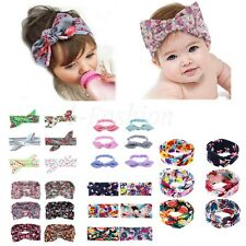 6Pcs Kids Girls Baby Headband Toddler Bow Flowers Hair Band Accessories Headwear