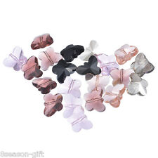 Wholesale Lots HX Mixed Butterfly Crystal Quartz Beads 5754 15x12mm