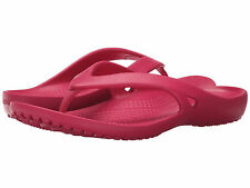 Women Crocs Kadee II Flip Flop Sandal 202492-652 Raspberry 100% Original B New