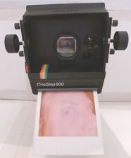 Polaroid Rainbow OneStep 600 SCREENSHOOTER Instant Film Camera TESTED RARE