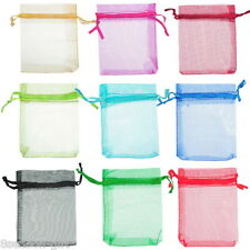 Wholesale Lots HX  Mixed Random ORGANZA  GIFT BAGS Jewellery Pouches