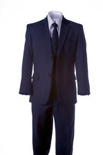 NEW Navy Blue Suit for Toddlers Boys and Young Men, Sizes 2T to Boys 20