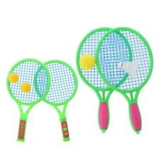 Tennis Set 2 Tennis Rackets with Balls Kids Tennis Racket Ball Set Toys