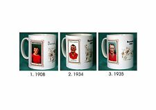 BARNSLEY.RETRO FOOTBALL DESIGN MUGS. 3 DESIGNS.NEW.BNIB