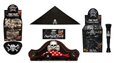 Pirate Party Bag Fillers Toys Hat, Telescope, Bandana,Eye Patch Pirate Accessory
