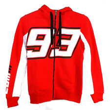 Marc Marquez Large 93 Moto GP Zip Womens Hoodie Fleece Red Official 2016