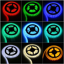 Waterproof 5050SMD 5M LED Strip Lights Red/Green/Blue/Yellow/White RGB IR Remote