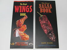The Great Salsa Book and The Great Wings Book - Chicken Wings Homemade Salsa
