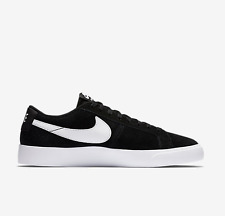 NIKE SB BLAZER VAPOR BLACK WHITE SUEDE MENS SKATE SHOES FREE POST AUSTRALIA