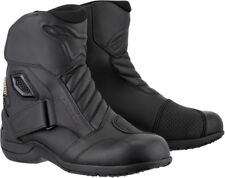 Alpinestars Mens Black New Land Gore-Tex Touring Motorcycle Boots