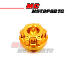 Gold CNC Race Billet Oil Filler Cap For Ducati SS 620 750 800 900 1000 91-06