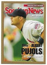 2005 Topps Update Gold #157 Albert Pujols AS /2005