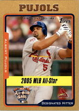 2005 Topps Update Gold #187 Albert Pujols AS /2005