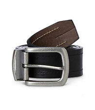 DENVER HAYES CASUAL HEAVY STITCH REVERSIBLE BELT 34 36 38 40 42