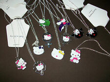 HELLO KITTY ENAMEL PENDANTS - VARIOUS STYLES