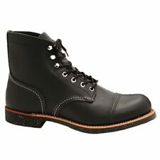 Red Wing Iron Ranger 8114 Black Mens Chukka Boots