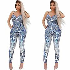 Sexy Women Ladies Clubwear Playsuit Bodycon Party Jumpsuit Romper Trousers 1
