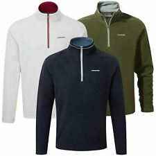 Craghoppers Selby Mens Half Zip Lightweight Micro Fleece Top Sweater Insulator