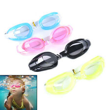Kids Swimming Goggles Pool Beach Sea Swim Glasses Children Ear Plug Nose Clip QW