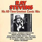 His All-Time Greatest Comic Hits by Ray Stevens (Cassette, Jun-1990, Curb)