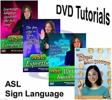 Learn ASL American Sign Language Tutorial DVD Series Factory Sealed New