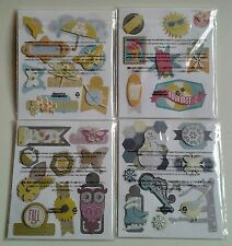 Creative Memories Season Stickers : You Pick : Winter Fall Spring Summer : NIP