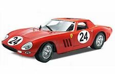 GUILOY 67505 & 67511 Ferrari 250 GTO diecast model race cars red 1:18th scale