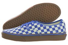 Vans Authentic VN0004MKIC5 Blue Checkered Fashion Sneakers Medium (B, M) Womens