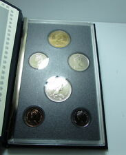 1989 Canada 6 Coin Specimen Set By RCM With COA