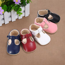 Baby Girl Toddler Infant Leather Shoes Soft Sole Prewalker Baby Mary Jane shoes