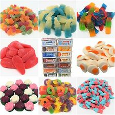 CANDY GARDEN JELLY FIZZY PENCILS BELT CANDY SWEETS TUBS VARIETIES 100% HALAL HMC