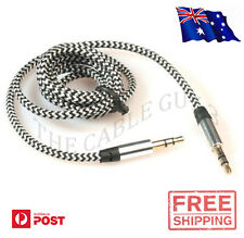 3.5mm to 3.5mm Audio/Stereo Cable - Premium Nylon Braided