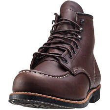 Red Wing 6-inch Moc Toe Mens Boots Amber New Shoes