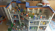 PLAYMOBIL HOSPITAL 3 STOREYS HIGH EXTRA WIDE 50 CLICKIES LOTS & LOTS