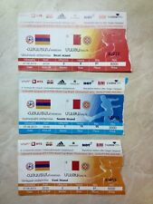 Armenian national team tickets 1994 - 2013 UPDATED APRIL 2017