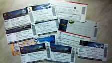 EС TICKETS from RUSSIA 1992/93 - 2014/15 updated APRIL 2017 Read description