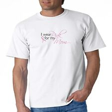 Breast Cancer Awareness T Shirt I Wear Pink For My Mom Ribbon Fight Support
