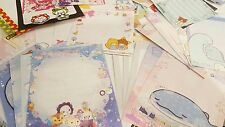 KAWAII MINI MEMO SHEETS LOT RILAKKUMA JAPANESE SAN-X SUPER CUTE ANIME SANRIO