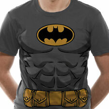 Batman - Logo, Body & Utility Belt T Shirt Size:S,L - NEW & OFFICIAL