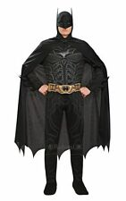 New Adult Licensed Batman Dark Knight Mens Fancy Dress Stag Party Costume Outfit