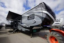 NEW 2017 JAYCO SEISMIC 4113 2 SLIDE 5TH WHEEL TOY HAULER NEW MODEL KITCHEN UP