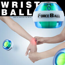 Gyroscope LED Force Ball Gyro Ball Exercise Wrist Arm Muscle Strengthener W/LCD