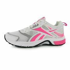 Reebok Pheehan Run 4 Running Shoes Womens Wht/Pink Trainers Sneakers Sports Shoe